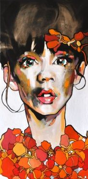 Dominik Jasiński TITLE Och!  DESCRIPTION 120/60 cm, oil on canvas