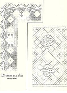 Bolillos&Bordados 07 (Nueva Epoca) Bobbin Lace Patterns, Weaving Patterns, Fiber Art, Projects To Try, Fancy, Crochet, Arizona, Rugs, Home Decor