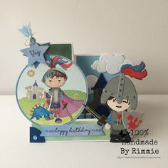 100% Handmade By Rimmie: The collection #65: ridders en prinsessen