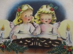 Blond Angels Piano Sheet Music Candles Vintage Norcross Christmas Greeting Card Vintage Christmas Cards, Christmas Greeting Cards, Christmas Greetings, Kids Christmas, Christmas Ornaments, Home Movies, Vintage Candles, Piano Sheet Music, Fleetwood Mac