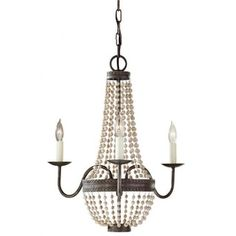 Buy the Murray Feiss Peruvian Bronze Direct. Shop for the Murray Feiss Peruvian Bronze Charlotte 3 Light Single Tier Chandelier and save. Chandeliers, 3 Light Chandelier, Bronze Chandelier, Beaded Chandelier, Entryway Chandelier, Industrial Chandelier, Farmhouse Chandelier, Pendant Lamps, Home