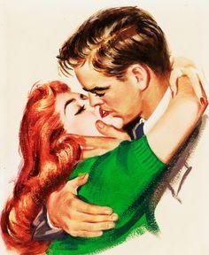 Very 1950's classic romance