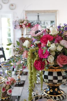 "Fig & Twigs' Janice Morrow throws a ""Gal-entine's Day"" Dessert Party with a floral centerpiece that is to die for!"