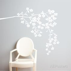 Coastline Blossoms Wall Decal Wall Decal at AllPosters.com $64