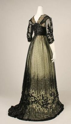 Ball gown ca. 1908  From the METROPOLITAN MUSEUM OF ART by tracif