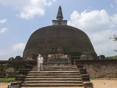 Dagoba Polonnaruwa - www.le-blog-trotteur.fr