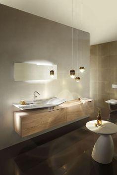 Meuble stocco iks en fenix noir et bois vintage salle de for Salle de bain 6000 euros