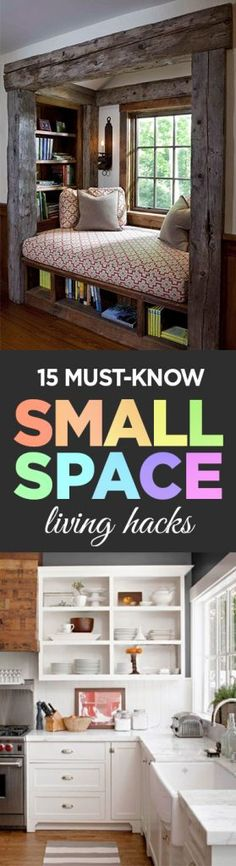 15 Must-Know Small Space Living Hacks - Page 17 of 17 - Organization Junkie