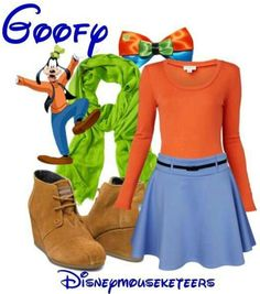 Goofy disneybound