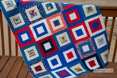 Glad you made it to Friday? but Friday is just around the corner! Tgif Fridays, Flag Quilt, Quilt Of Valor, Pattern Blocks, Quilts, Quilt Sets, Log Cabin Quilts, Quilting, Quilt