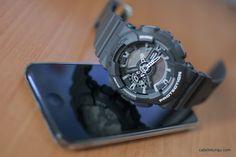 G-Shock GA 110C & iPod 5G