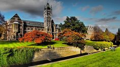 University of Otago, Dunedin, South Island, New Zealand. My old Uni