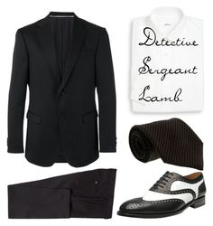 """crooked house"" by mashevska on Polyvore featuring Z Zegna, Brioni и Gianfranco Ferré"