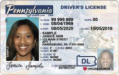 This new driver's license will be available in Pennsylvania in October It is not Real ID compliant Pa Drivers License, Driver License Online, Driver's License, License Plates, Real Id, Get Real, Get One, Whatsapp Text, Passport Card