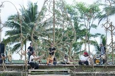 Saung swara etno experimental music from salatiga central java