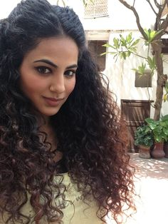 The humidity in Pakistan has a major role in determining my curl pattern for the day!
