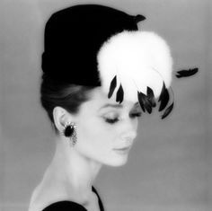 Audrey...hat (Soft & magnificent!) Frm bd: You can leave your hat on...#2