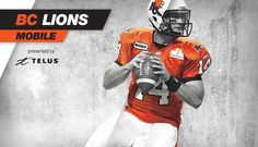 The new and improved BC Lions Mobile presented by TELUS is available to download on your iPhone, iPad and Android devices now! http://bclions.com/mobile