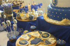 Royal Prince Baby Shower Party Ideas | Photo 9 of 12 | Catch My Party