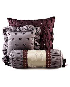 """Waterford """"Ashton"""" Decorative Pillows"""