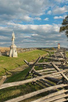 Bloody Lane at Antietam National Military Park