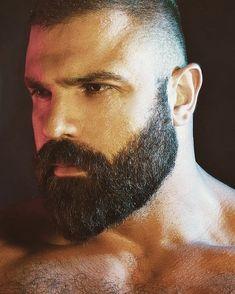 Scruffy Men, Hairy Men, Bearded Men, Great Beards, Awesome Beards, Beard Styles For Men, Hair And Beard Styles, Beard Game, Beard Look