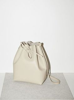Bucket Bag by Mansur Gavriel more minimalist design inspiration and goods delivered to you quarterly @ http://minimalism.co #minimal #minimalist #minimalism #style #design #bag #luxury #fashion #outfit