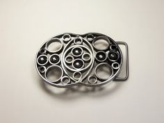 Classy and Cool Stainless Steel Belt Buckle by downhomebuckles