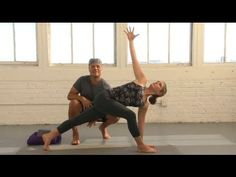 Try this gentle, steady flowing sequence from Baron Baptiste to warm and open the body in preparation for meditation.