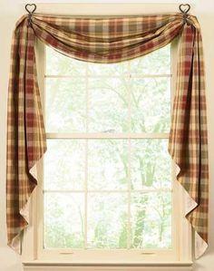 Modern Furniture: Kitchen curtains design 2011 (Style, for bathroom window?)