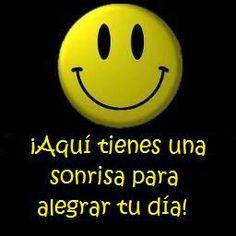 ¡Aquí tienes una sonrisa para alegrar tu día!