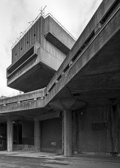 Hayward Gallery 4, South Bank, London, Norman Engleback, Dennis Crompton, Warren Chalk and Ron Herron for the LCC, 1968 Photo: Simon Phipps