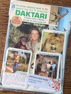 Daktari African Game Reserve Vintage Classic by diamondcloudstudio