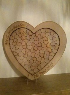 Wedding Guestbook Alternative Drop Box Wooden By Perfectparcels1 Frames Book Diy