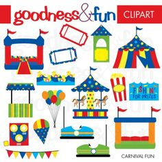 We Have A Wonderful Carnival Printable Designed By Goodness Fun