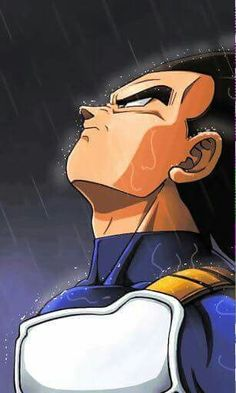 Vegeta in the rain. Dragon Ball Gt, Poster Superman, Foto Do Goku, Dragonball Super, Goku Super, Dragonball Evolution, Dbz Vegeta, Z Arts, Son Goku