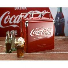 Retro Coca-Cola Cooler