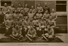 Boer War Officers of the Carabiniers 6th Dragoons