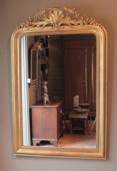 antike-blattgold-spiegel