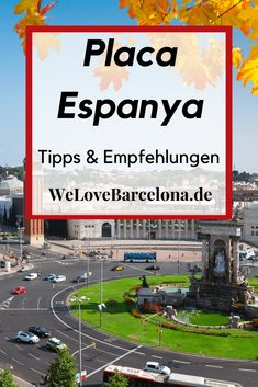Placa Espanya in Barcelona: ♥ Platz am Fuße des Montjuics Barcelona Hotels, Barcelona Bars, Barcelona Museum, Shopping In Barcelona, Baseball Field, Travel, Sagrada Familia, Barcelona Tourist Attractions, Traveling