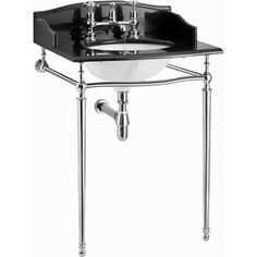 Burlington Georgian Granite Sarah Wash Stand.  Traditional Bathroom Basin from UK Bathrooms