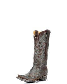 Old Gringo Women's Diego Cowgirl Boots - Brass/Turquoise  http://www.countryoutfitter.com/products/48864-womens-diego-boot-brass-turquoise