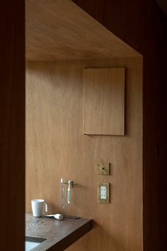 Architecture Details, My Room, Wood Wall, Coffee Shop, Door Handles, Material, House Design, Interior Design, Mirror