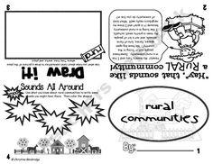 Communities Flippy Books- Rural, Urban, Suburban
