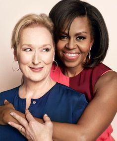 Michelle Obama & Meryl Streep On Raising   Overweight Feminist, Liberal, nasty daughters!