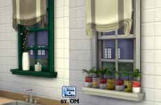 Sill Frill window sill with 7 slots by OM at Sims 4 Studio via Sims 4 Updates  Check more at http://sims4updates.net/objects/decor/sill-frill-window-sill-with-7-slots-by-om-at-sims-4-studio/