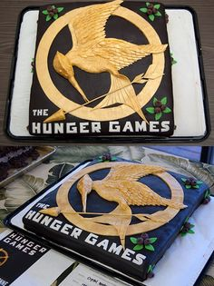 Hunger Games Cake. I'll marry whoever made this... maybe Peeta <3 :)
