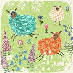 print  pattern: CARDS - oakwood