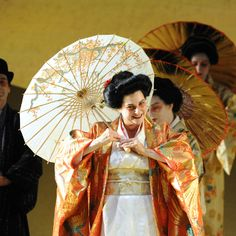 Claire Rutter as Cio-Cio San with Grange Park Opera in Puccini's Madame Butterfly    #Puccini #opera #singing    ©, Alaistair Muir