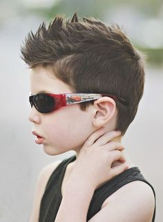 Mohawk and Shades Style *** See the whole article at >>> http://haircutinspiration.com/haircuts-for-kids